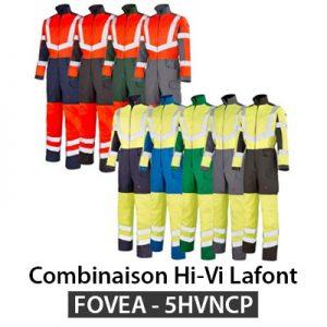 Combinaison haute visibilite Lafont FOVEA