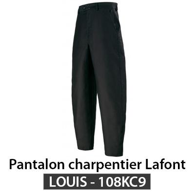 Pantalon de charpentier largeot Lafont 108kc9