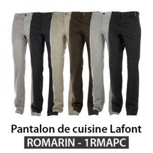 Pantalon cuisinier Lafont ROMARIN