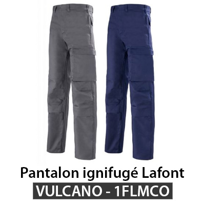 Pantalon ignifugé Lafont Vulcano