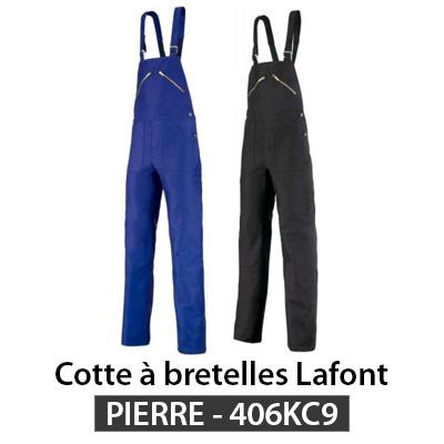 Salopette de travail Lafont 406kc9 Pierre