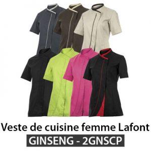 Veste cuisine femme Lafont GINSENG