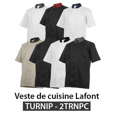 Veste cuisine Lafont TURNIP 2TRNPC
