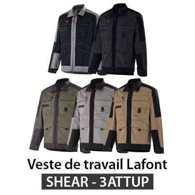 Veste travail Lafont SHEAR 3ATTUP