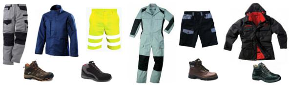 Vêtements de travail pour Artisanat/BTP/Industrie