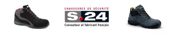 S24 : concepteur et fabricant de chaussures de sécurité
