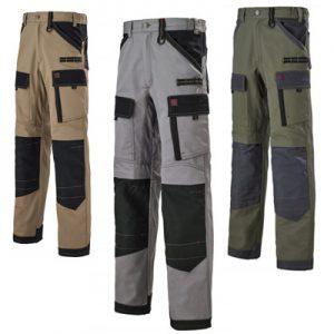Pantalon de travail 1ATTUP LAFONT genoux en Cordura