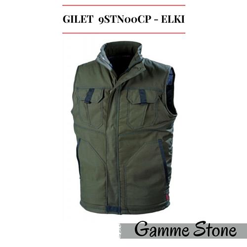 Gilet de travail Lafont 9STN00CP Elki