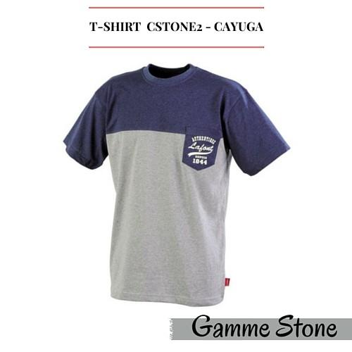 T-shirt chiné CSTONE2 LAFONT