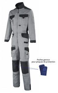 Combinaison Lafont avec poches genoux pour plaques de protection
