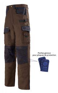 Pantalon pour travaux lourds Lafont avec poches genoux