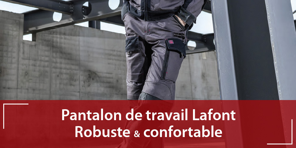 Pantalon de travail Lafont 1att82cp
