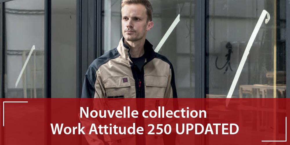 La nouvelle collection Work Attitude 250 UPDATED signée Adolphe Lafont