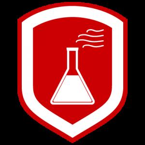 Pictogramme Norme EN 13034 2005 Protection contre produit chimique