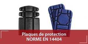 Norme EN 14404 - plaque de protection genoux