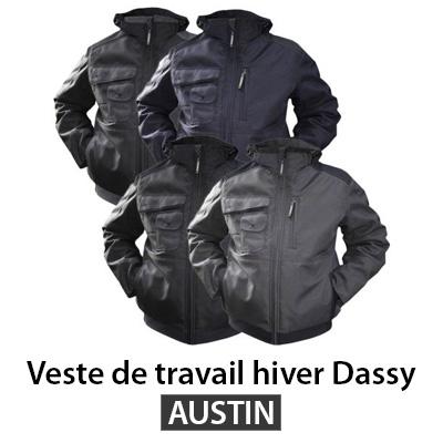 Veste professionnelle hiver Dassy AUSTIN