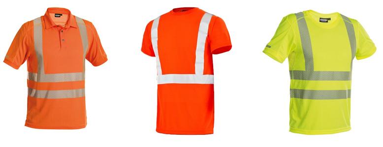 Tee shirts de travail Haute-Visibilité
