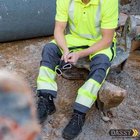 Pantalon et t-shirt de travail haute visibilité Dassy