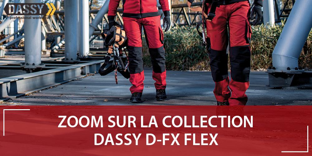 DASSY D-FX FLEX : tenues professionnelles Stretch