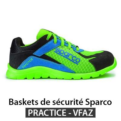 Chaussure de securite style basket Sparco PRACTICE