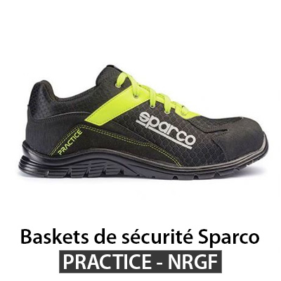 Chaussure securite basket Nitro PRACTICE
