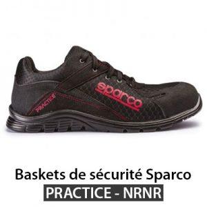 Basket de sécurité légère Sparco PRACTICE