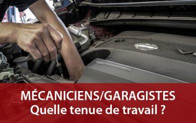 Mécaniciens et Garagistes : quels vêtements de travail choisir ?