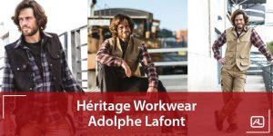 Gamme Héritage Workwear Vêtements de travail Lafont