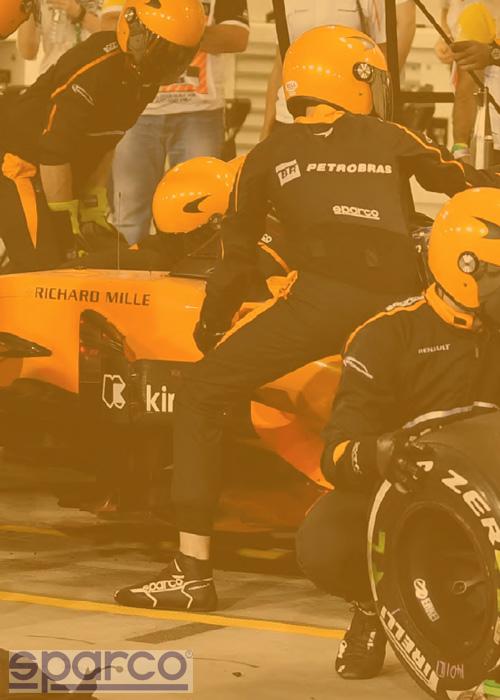 Sparco équipementier Formule 1