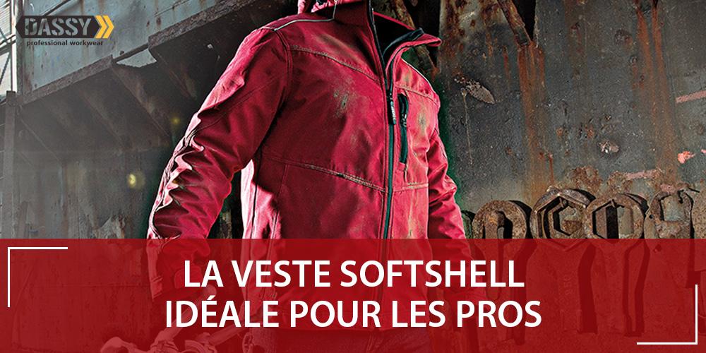 Softshell de travail : la veste multi-couches
