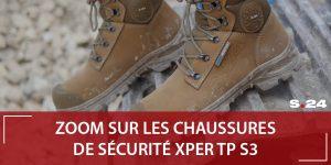 Chaussure de sécurité btp XPER TP S24