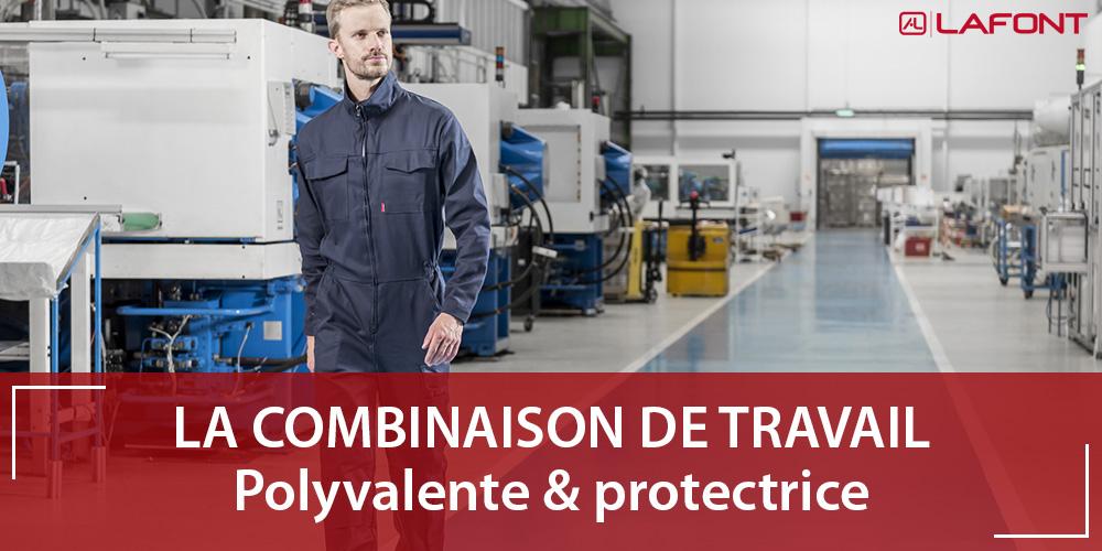 Combinaison de travail : polyvalente et protectrice