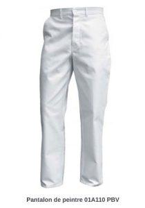 Pantalon peintre en coton PBV 01A110