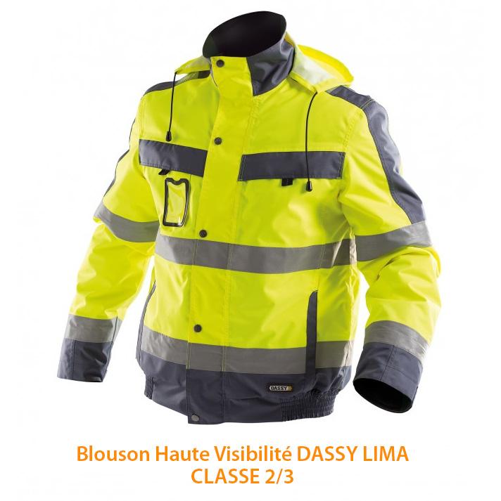 Blouson Haute Visibilité Dassy Lima