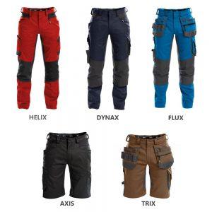 Pantalons de travail et shorts D-Flex Dassy