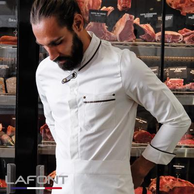 Veste de cuisine blanche Navarre Lafont