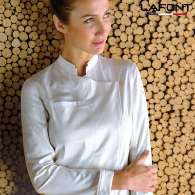 Veste de cuisine blanche femme Lafont Solanum