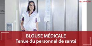 Blouse médicale pour professionnels de santé