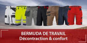 Bermudas de travail