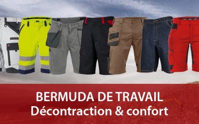 Bermuda de travail : vêtement pro décontracte et fonctionnel