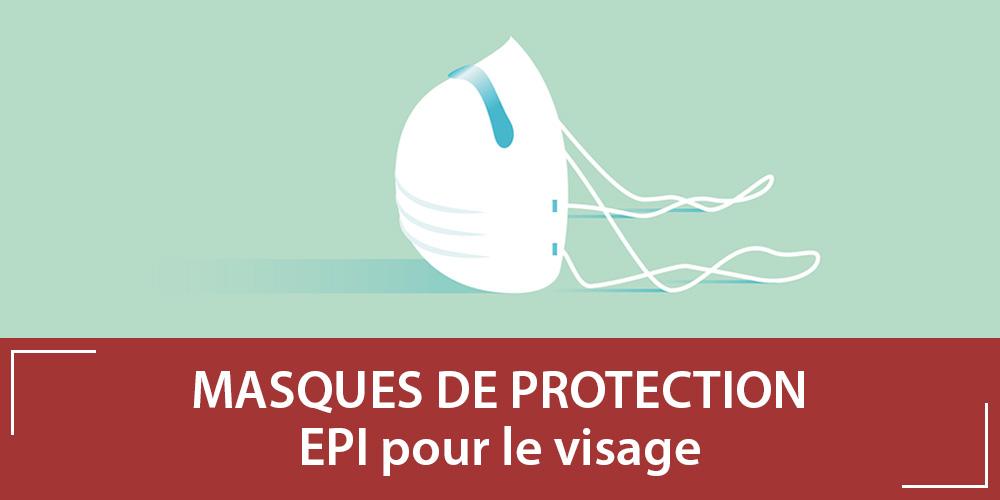Les types de masque de protection : Chirurgical vs FFP