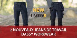 Nouveaux Jeans de travail stretch DASSY