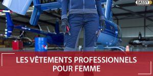 Bleu de travail femme moderne