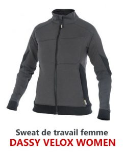 Sweat pro femme Velox Dassy
