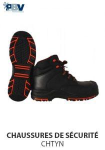 Chaussures de sécurité hautes CHTYN PBV