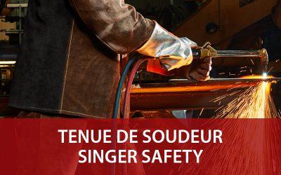 Vêtements Soudeur : les nouveautés Singer Safety