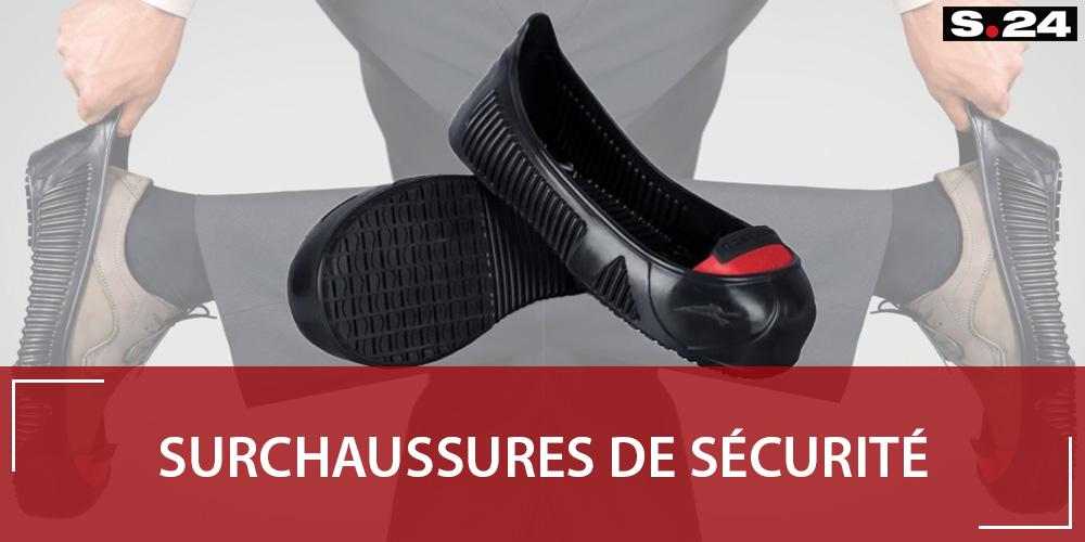 Surchaussures de sécurité : protégez les visiteurs