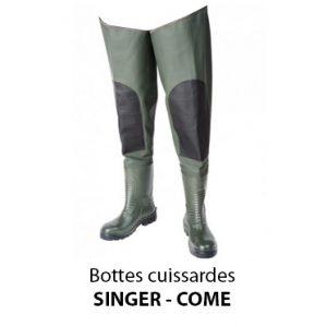 Bottes agriculteur cuissardes Singer Come