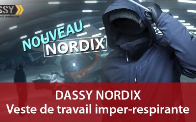 NORDIX : la nouvelle veste de travail hiver Dassy