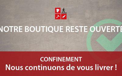 Confinement : votre boutique Vetdepro.com reste ouverte